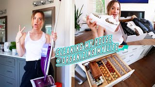 cleaning my house + organizing my life!!