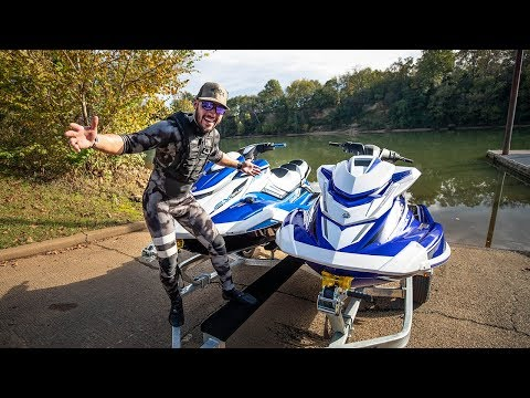 YAMAHA GAVE ME $20,000 SUPERCHARGED JETSKIS FOR FREE!!!!!!! (BlueBae is back)