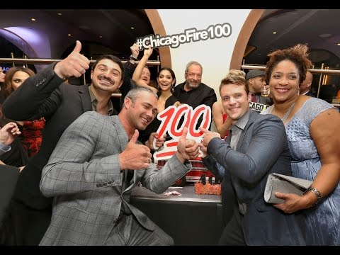 Cast of Chicago Fire and many other stars celebrate 100th episode with epic red carpet in Chicago