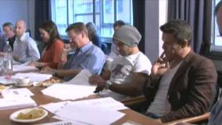 EXCLUSIVE FOOTAGE - CORONATION STREET A KNIGHTS TALE READ THROUGH (OUT ON DVD NOV 1)
