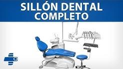 Sillón Dental Completo - Con sistema de mangueras en colibrí 954-S2308