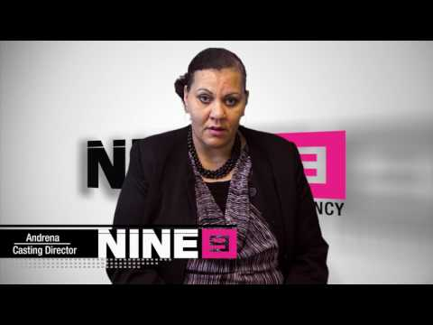 Casting Director Andrena with Her Review of Nine9