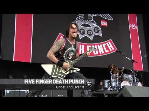 Five Finger Death Punch - Under and Over It - LIVE @ Download