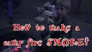 How To Make Campfire S'mores