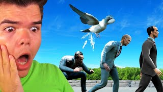 TROLL_HUMANS_In_BIRD_SIMULATOR!_(Funny_Game)