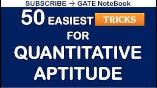 50 Easiest TRICKS to Solve Quantitative Aptitude Problems (Contact @ 8368017658) screenshot 4