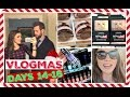 DRUGSTORE MAKEUP SHOPPING | Vlogmas Days 14-16