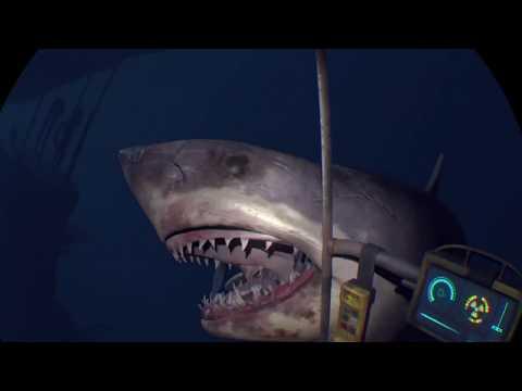 Encounter With Sharks In The Deep Sea | Virtual Reality | Encuentro Con Tiburones | Realidad Virtual