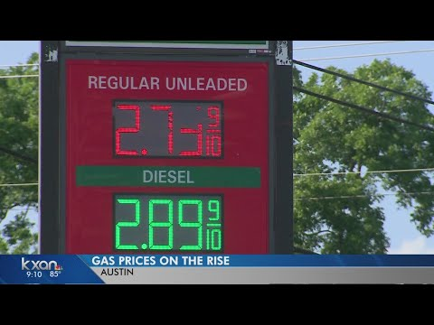 Gas prices likely to reach $3 a gallon this summer in Central Texas