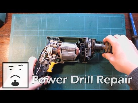► How To - Replace Worn Power Drill Brushes ◄