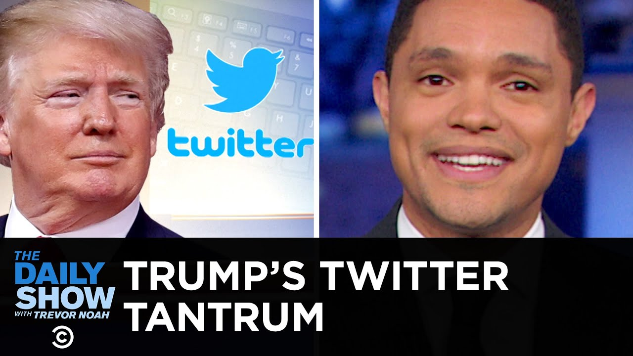 Trump Throws a Tantrum Over Twitter Followers and Tests the Power of Congress | The Daily Show