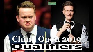 Shaun Murphy vs Adam Stefanow China Open 2019 Qualifers