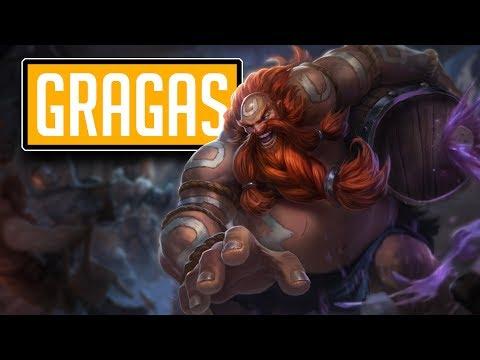 League of Legends #546: Gragas Jungle (CZ/Full HD/60FPS)