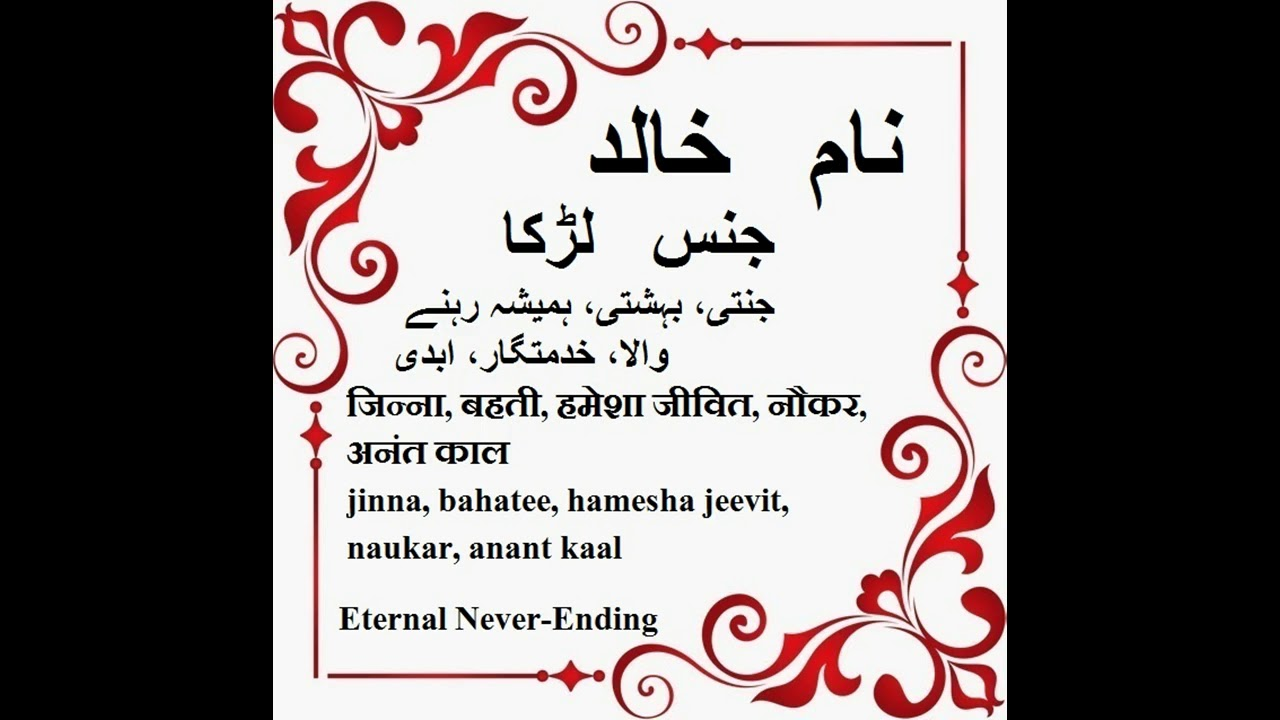 what is meaning in urdu