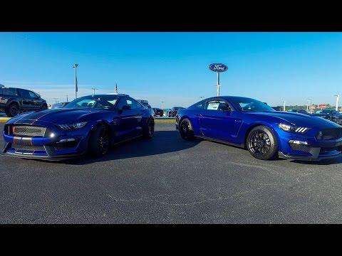 Shelby GT350 versus GT350R in 4K