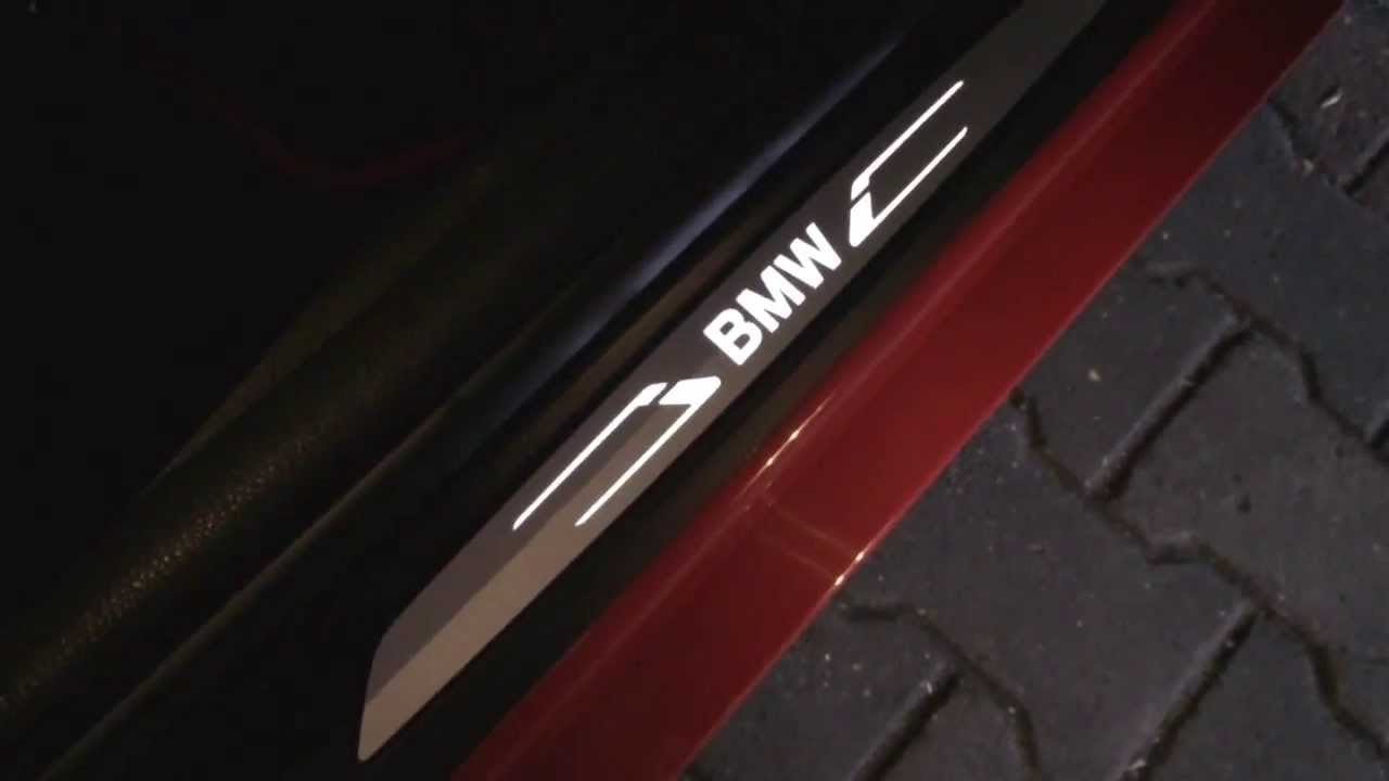 Bmw F20 F30 Door Sill Panels Led Podświetlane Progi Youtube