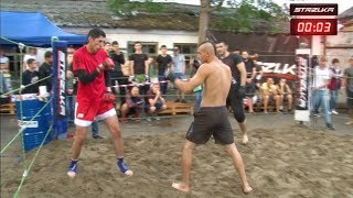 BASKETBALL PLAYER vs MMA Fighter !!! Best Fight !!!