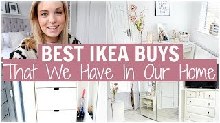 OUR FAVOURITE IKEA PURCHASES - BEST BUYS & MUST HAVES FOR STORAGE & ORGANISATION | Alex Gladwin