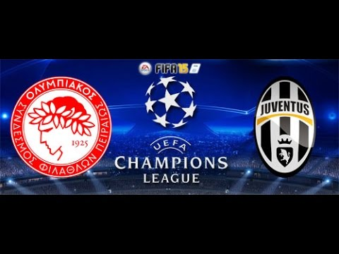 Fifa 15 Champions League Olympiakos Piraeus Vs Juventus Fc Full Gameplay Match Xbox One Youtube