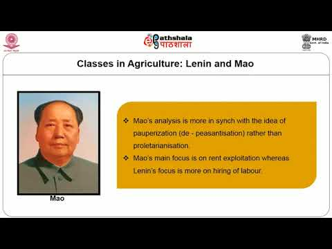 Peasant studies in Indian sociology: marxism and the agrarian question