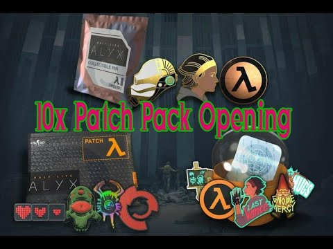 CSGO HALF LIFE : ALYX PATCH PACK OPENING!
