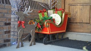 Free pattern - http://www.hertoolbelt.com/13-days-christmas-woodworking/ Make a cute DIY wood reindeer from a simple 1x8 ...