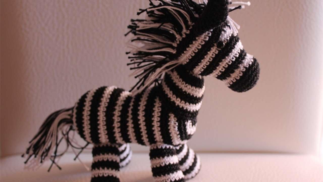 How To Crochet A Cute Toy Zebra - DIY Crafts Tutorial ...