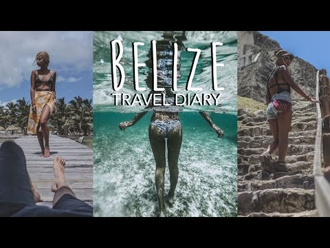 Travel Diary: Belize (Swimming With Sharks, Cave Tubing, Mayan Ruins & More)