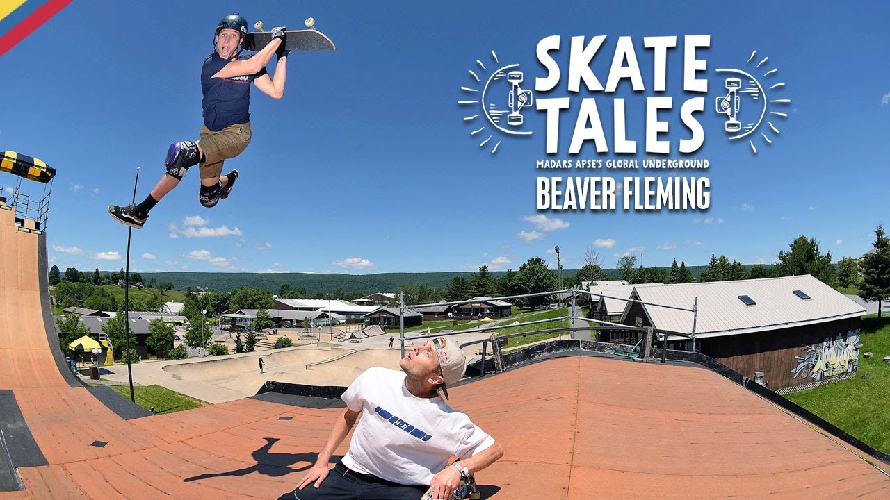 Attempting The Mini Mega Ramp With Beaver Fleming Skate Tales Ep 5 Youtube