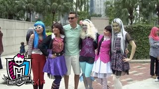 Monster High® ghouls visit Kuala Lumpur on their way to Scaris