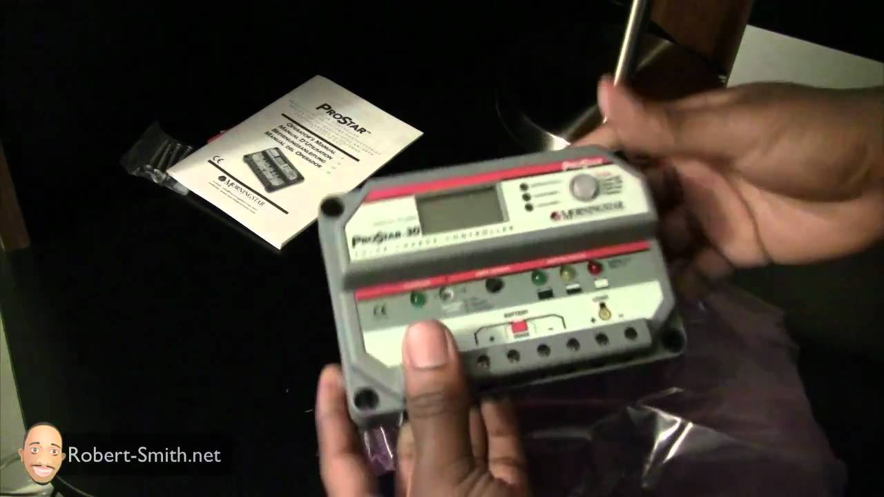 Morningstar PS-30M Prostar 30 Charge Controller Unboxing - YouTube