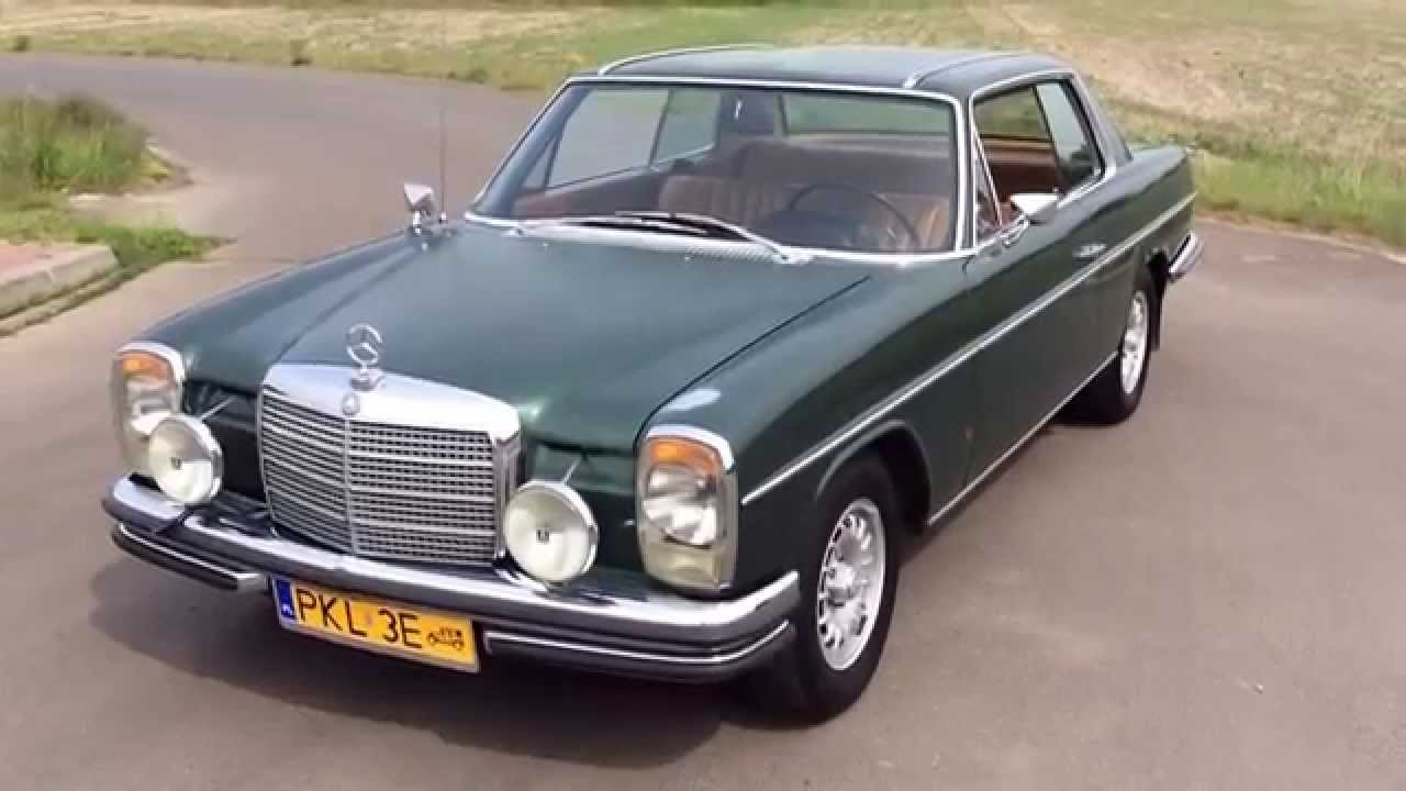 mercedes w114 coupe 1971 youtube. Black Bedroom Furniture Sets. Home Design Ideas
