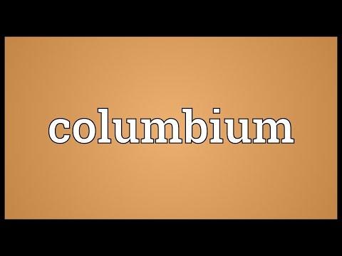 Header of columbium