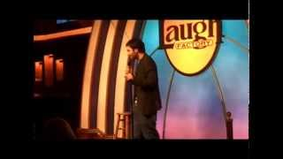 Stand-Up Comic Paul Chowdhry in Hollywood.