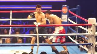 村田諒太はブルーノ・サンドバルを3R2分53秒TKO 2016年は4戦4勝4KO 村田諒太 検索動画 27