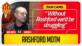 ED WOODWARD FAILING UNITED! Manchester United 4-0 Norwich Fan Cam