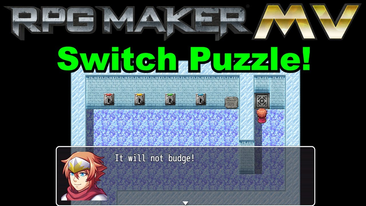 RPG Maker MV - Simple Switch Puzzle Tutorial - YouTube