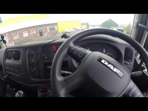 Trucker Jay in the UK: S2E22 DAF LF 150 Euro 6