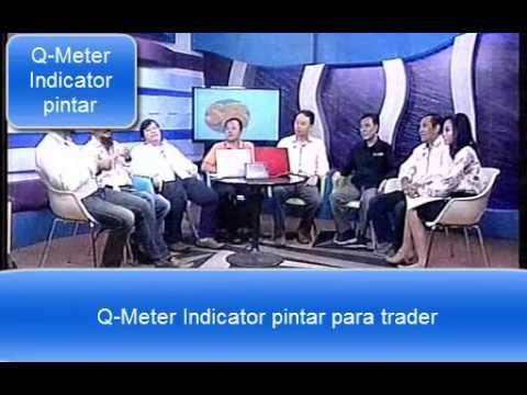 Q Meter Indicator pintar para trader dengan profit 100% part 2