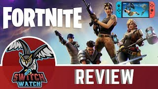Fortnite Nintendo Switch Review- Battle Royale on the move