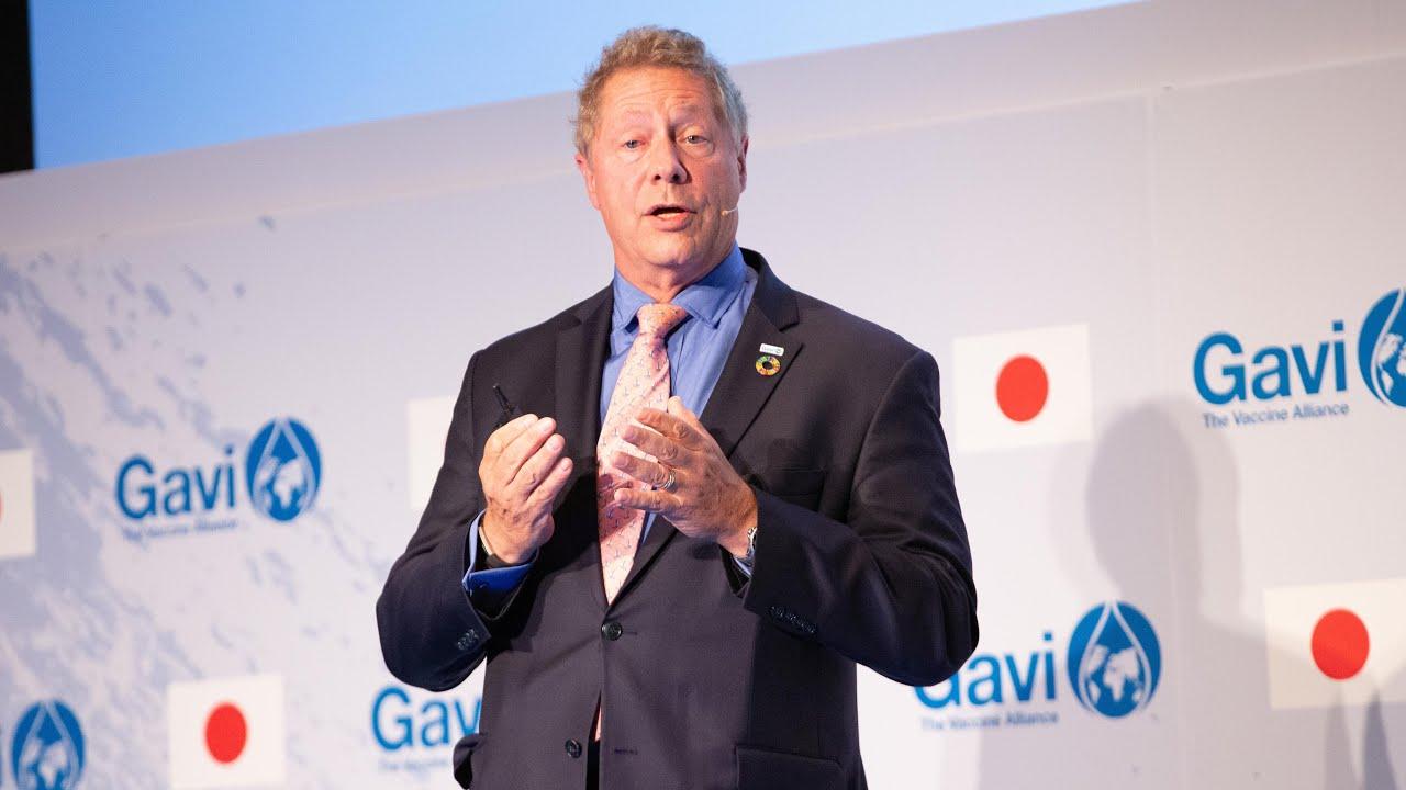 Dr Seth Berkley, Gavi CEO