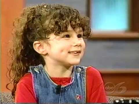 Hallie Eisenberg   1998. Age 6