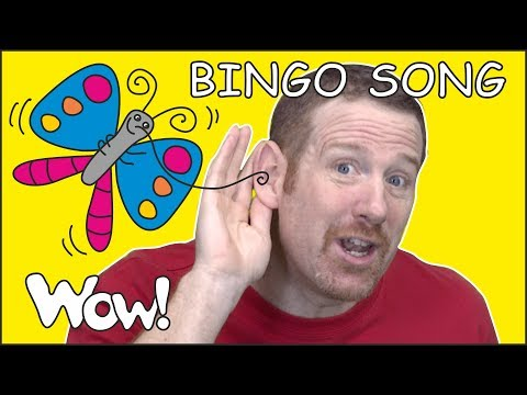 Bingo Song with Steve and Maggie | Speaking Stories with Free Abc songs Wow English TV