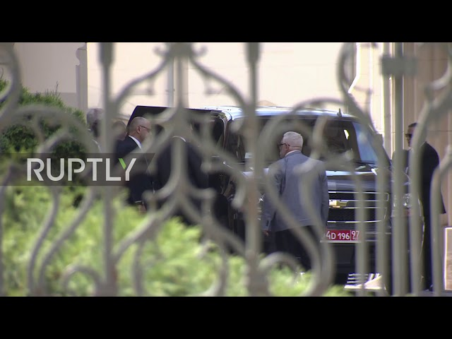 Russia: US national security adviser arrives to meet Russian FM