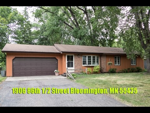 1906 86th 1/2 Street, Bloomington, MN 55425- Home For Sale