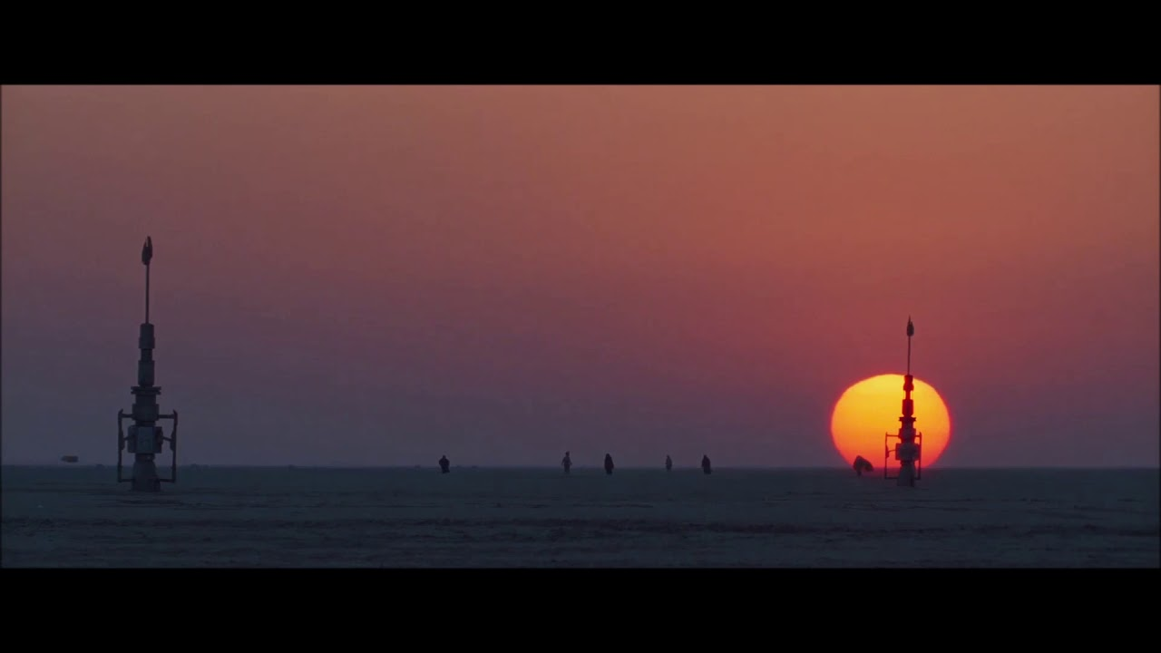 Star Wars Binary Sunset Youtube