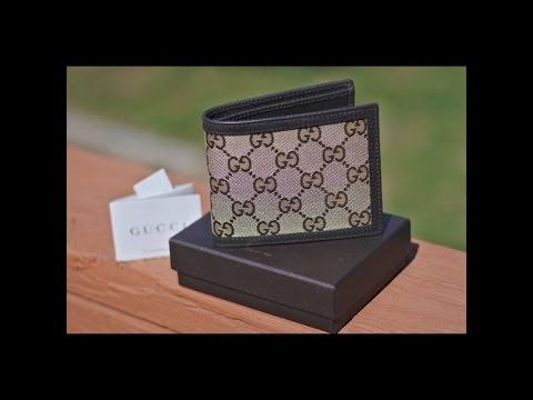 118c594ff66b FREE Gucci GG Supreme Canvas Bi-Fold Wallet - YouTube