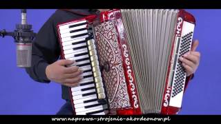 Na wzgórzach Mandżurii - akordeon Horch musette po naprawie w serwisie akordeonów Tadeusza Łandy