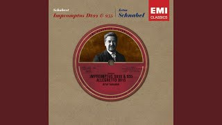 Impromptus D899 (2005 Digital Remaster) : No. 1 in C minor: Allegro molto moderato