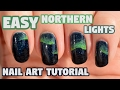 EASY Northern Lights Nail Art Tutorial